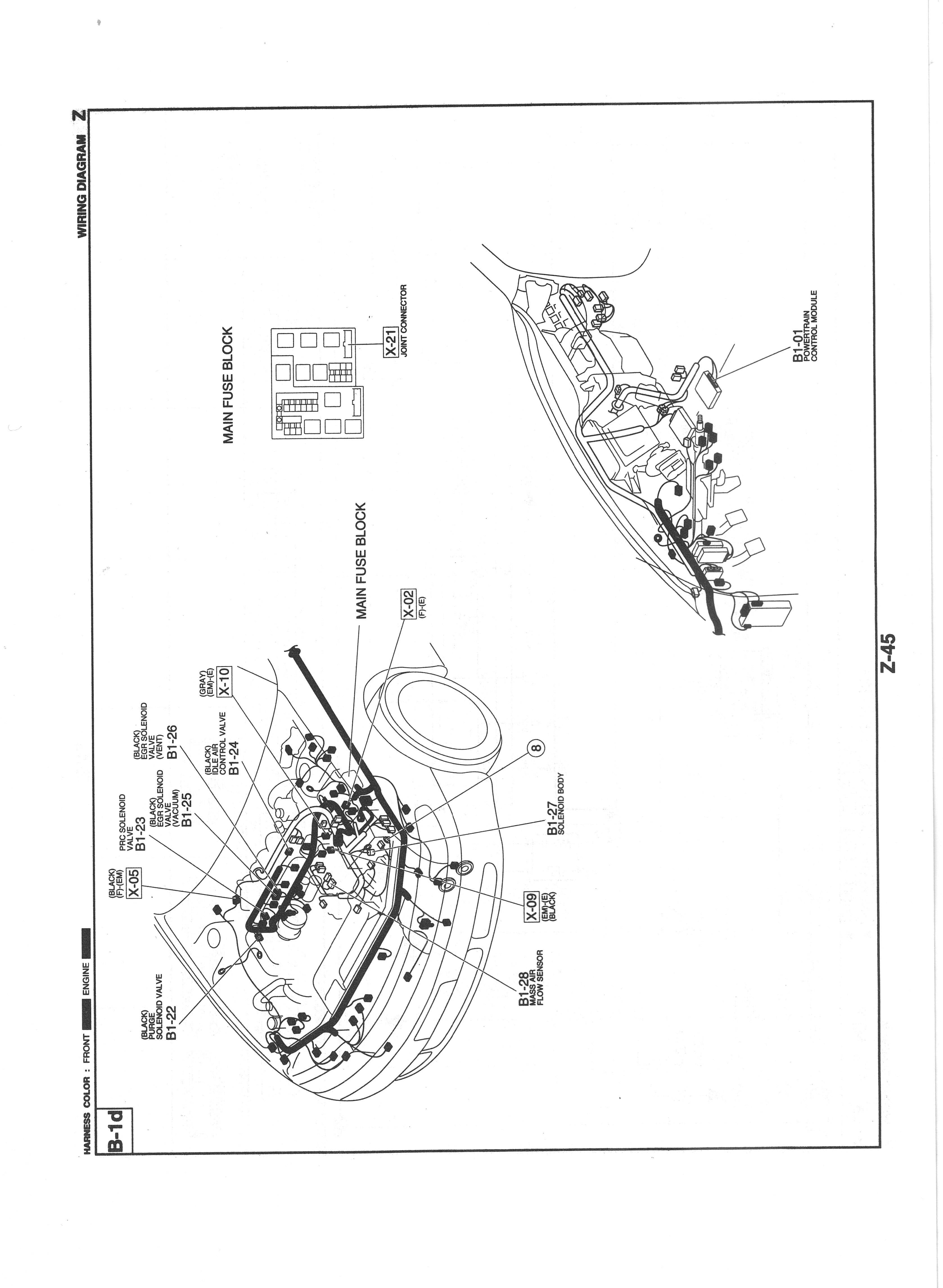 Us Mazda 626 Mx 6 Work Shop Manuals Scans 1995 Flow Control Valve Diagram On Egr Solenoid Circuit Z 045 1174kb Aug 24 2014 055040 Am