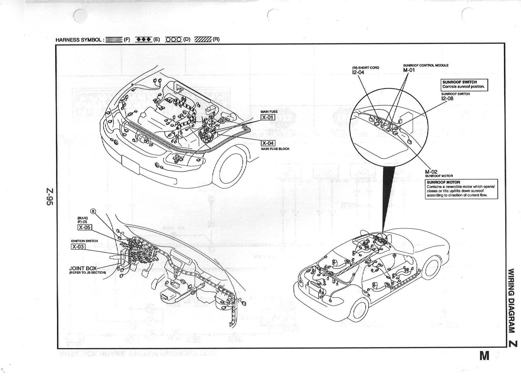 Us Mazda 626 Mx 6 Work Shop Manuals Scans 2001 2004 Sunroof Wiring Diagram Z 095 341kb Aug 07 2015 111400 Am
